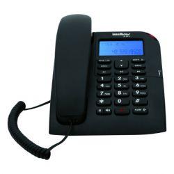 TELEFONE INTELBRAS C/IDENT. VIVA VOZ - PRETO TC-60