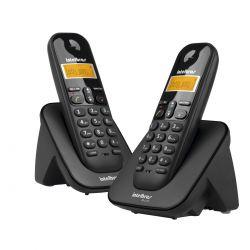 TELEFONE INTELBRAS S/FIO TS-3112 C/RAMAL DUPLO