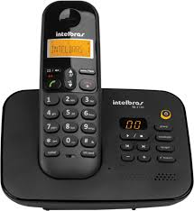 TELEFONE INTELBRAS SEM FIO TS3130 PT C/ SECRETARIA