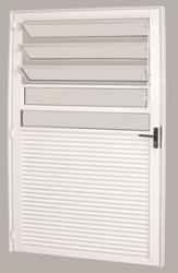 Porta Basculante  80x210 Esquadrisul Alum. Branca